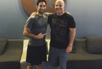 Image of Abe and Anthony Block